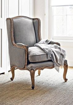 New bedroom vintage style chairs ideas Shabby Chic Armchair, Shabby Chic Chairs, Vintage Dining Chairs, Farmhouse Dining Chairs, Dining Room, French Country Bedrooms, French Country Living Room, French Style Chairs, Accent Chairs Under 100