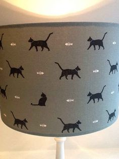 This lampshade is purrfect without being over the top.