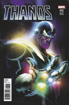 Thanos Variant Cover by Rafael Albuquerque Rare Comic Books, Comic Book Covers, Comic Book Characters, Marvel Characters, Hq Marvel, Thanos Marvel, Dc Comics Superheroes, Marvel Dc Comics, Best Marvel Villains