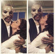 Kaley Ann Voorhees and Norm Lewis- Phantom