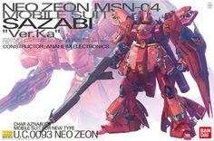 Bandai Hobby MG Sazabi Version Ka Model Kit (1/100 Scale)