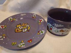 Milka Christmas Mug and Plate