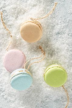 Macaron Ornament Set | Pinned by topista.com
