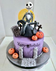 ❥The Nightmare Before Christmas | Cake