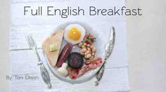 A miniature English Breakfast