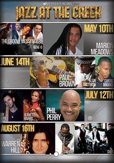 6-14-14  Jazz At The Creek - Featuring Paul Brown, Elan Trotman, Curtis Brooks