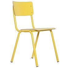 Zuiver Back to School Stoel - Geel