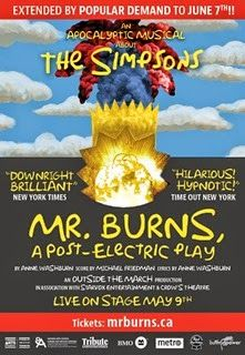 Theatre Thoughts: Mr. Burns, A Post-Electric Play