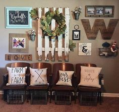 Farmhouse Wall Decor 99 diy farmhouse living room wall decor and design ideas (29