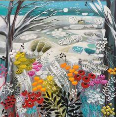 The edge of winter - Natalie Rymer art