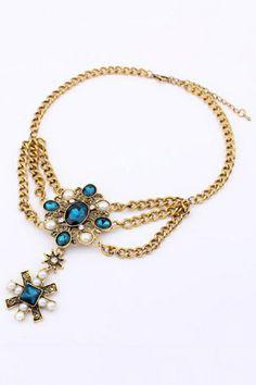 Royal Short Necklace OASAP.com