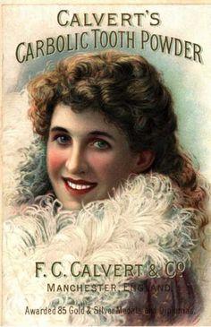 Teeth whitening vintage style Vintage Advertisements #VINTAGE #ads