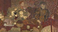 [フリー絵画素材] エドゥアール・ヴュイヤール - 陶器 (1895) ID:201309271500