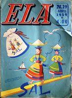 crochet em revista: revista «Ela»