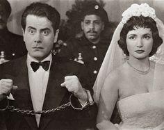 فريد الاطرش و شادية في فيلم انت حبيبى عام 1957 م