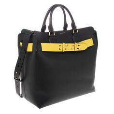 2ba9f124650 Details about Burberry Women s Small Brit   Canvas Maidstone Tote ...