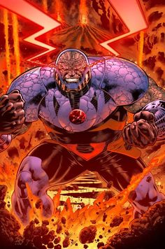 Darkseid Art by Paulo Siqueira, Le Beau L. Underwood (inks) & Steven Oaks (color)