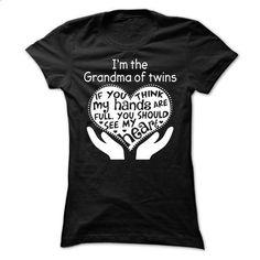 Grandma of twins - #checkered shirt #tshirt customizada. I WANT THIS => https://www.sunfrog.com/No-Category/Grandma-of-twins-Ladies.html?68278