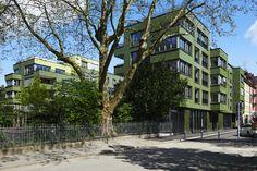 Wohnüberbauung Lukashof in Zürich von Beat Rothen Architektur (Foto: Arazebra)