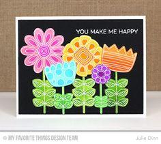 Doodled Blooms Card Kit