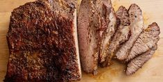 New and flavorful beef brisket recipes, perfect for Hanukkah or other holiday meals. Beef Brisket Recipes, Roast Brisket, Roast Beef, Pork Recipes, Game Recipes, Beef Tenderloin, Noodle Recipes, Pork Chops, Pizza
