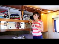 One of the biggest challenges of living in an RV is organizing! The closets and drawers aren't normal sizes so finding RV storage solutions is tricky.