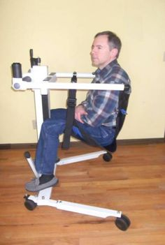 Portable Handicap Lift with Seat Sling