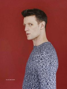 """A new photoshoot of Matt Smith by Jesse John Jenkins features in the new edition of """" L'Officiel Hommes Paris"""" . Matt wears a variety of ou. Doctor Who Actors, Doctor Who Cast, 11th Doctor, Matt Smith Doctor Who, David Tennant Doctor Who, Last Unicorn, Doctor Who Quotes, The Fashionisto, Rory Williams"""
