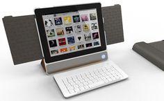 The IN2UIT iPad 2/3/4 speaker dock by BoomPack