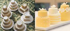 Mini bolos para festas
