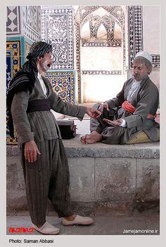 Display in the Hammam-e Khan Bath, also known as Pir Zahiri Bath House in Sinê City, Kurdistan, Iran.