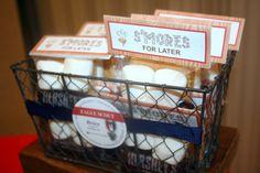 Eagle Scout Court of Honor #EagleScout #BSA #CourtofHonor #smores #favors