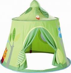 Offrez-lui un espace rien que pour lui avec la Tente de Jeu Forêt Enchantée de la marque Haba ! 5% de réduction sur www.doudouplanet.com