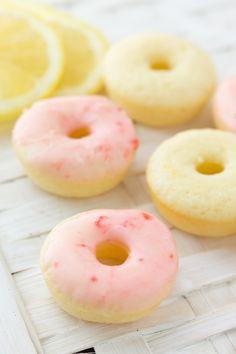 Strawberry Lemonade Mini Donuts-14