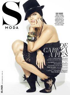 Gigi Hadid - S Moda El Pais, October 2014