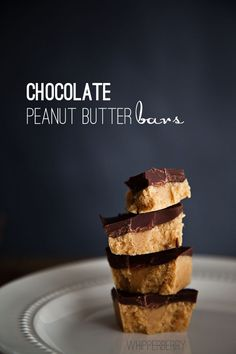 Chocolate Peanut Butter Bars the perfect Holiday Neighbor treat!