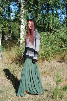 Fairy Pixie Elven Hoodie Sweater Bohemian Hippie Gypsy Witch Pagan Nymph Dryad…