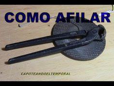 COMO AFILAR TENAZAS (rusas normales) - YouTube