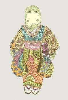 Mr. and mrs. Kimono : Anna Rodighiero