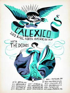 Grady McFerrin: Calexico Tour Poster