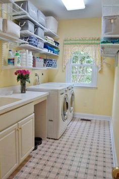 """See our web site for even more relevant information on """"laundry room storage small shelves"""". It is an excellent location to learn more. Laundry Room Shelves, Laundry Storage, Laundry Room Organization, Laundry Room Design, Closet Storage, Laundry Rooms, Storage Organization, Mud Rooms, Small Shelves"""