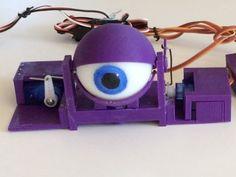 Animatronic Eye Mech by sideburn - Thingiverse