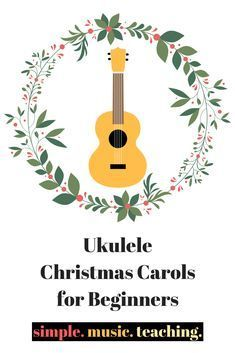Get in the holiday spirit with these Ukulele Christmas Carols for beginners! Feliz Navidad, Deck the Halls, and Jingle Bells! Ukulele Songs Beginner, Ukulele Chords Songs, Cool Ukulele, Ukelele, Christmas Music, Christmas Carol, Christmas Ukulele Songs, Deck The Halls, Music Lessons