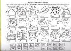 Imagen relacionada Spanish Worksheets, Batman Vs Superman, Speech Therapy, Preschool Activities, Graffiti, Diagram, Writing, Education, Learning