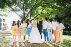 Real bride Tay Wei Leng, 30, and Ken Cai, 32, wed in a colourful and lively celebration with family and friends. She tells us: http://www.herworldplus.com/weddings/real-weddings/see-photos-fun-rainbow-themed-wedding