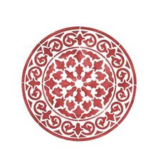 """Small Round Circle Medallion 4"""" ($10) ❤ liked on Polyvore featuring home and home decor"""
