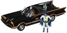 Jada Toys 98259 1966 Classic TV Series Batmobile with Batman and Robin figures 1: $29.61 End Date: Wednesday May-9-2018 13:01:17 PDT Buy It…