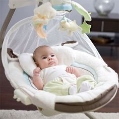 Fisher Price My Little Lamb swing- best baby invention ever! When does the adult version come out?