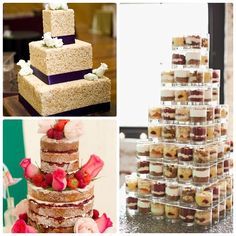 alternative wedding cakes - Google Search