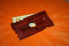 Pottery tool No 9,  3x3 Multi Radius Contour forming RIB & Sculpting, COCOBOLO wood, potters tool. $18.95, via Etsy.